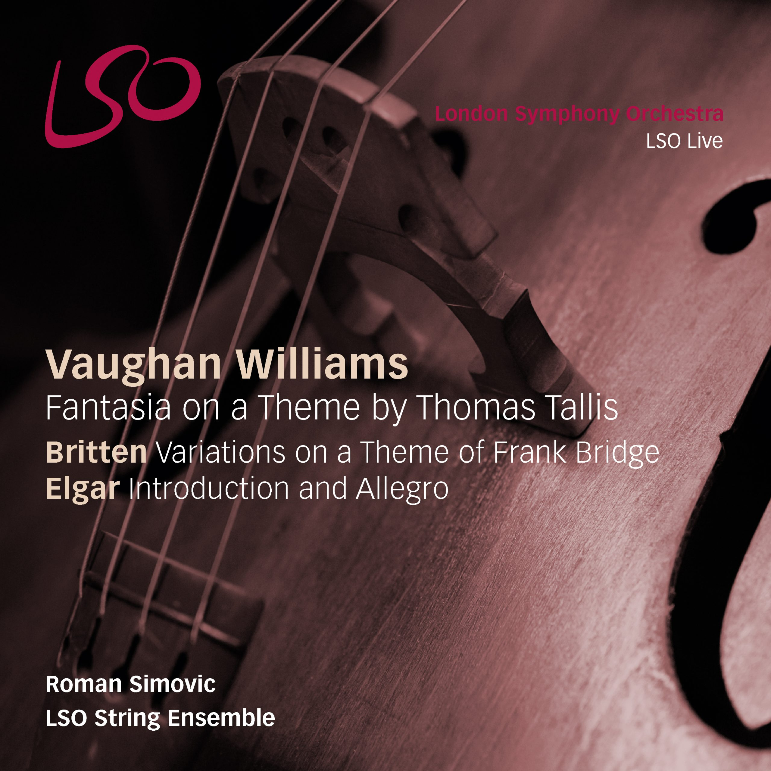 Vaughan Williams Fantasia On A Theme By Thomas Tallis Britten Variations On A Theme Of Frank Bridge Nativedsd Music